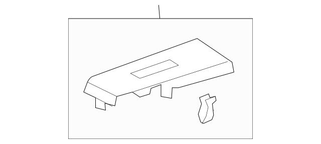 Honda Panel, R Switch *NH167L* (Sub) (Graphite Black