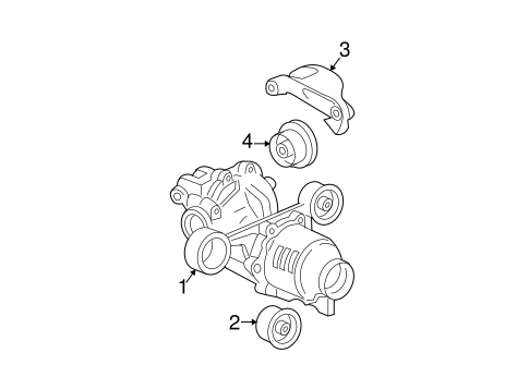 AXLE & DIFFERENTIAL Parts for 2005 Chevrolet Equinox