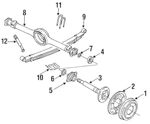 FRONT BRAKES for 1988 Mazda B2200