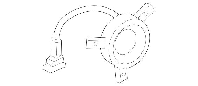 2017-2018 Lincoln MKZ Front Dr Speaker HP5Z-18808-F