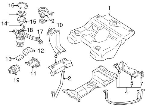 Fuel System Components for 2002 Audi Allroad Quattro