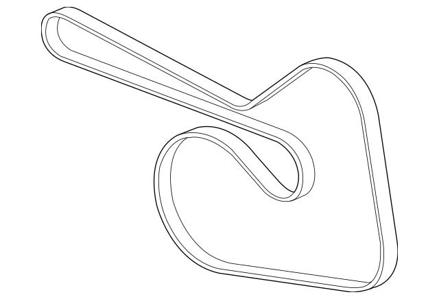 2014-2015 Chevrolet Cruze Serpentine Belt 55578485