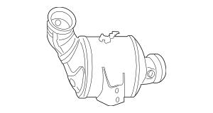 Mercedes-Benz Remanufactured Diesel Particulate Filter 204