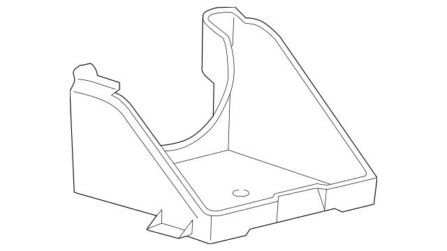 Genuine OEM 2003-2007 Ford Support Bracket 5C3Z-10732-BA