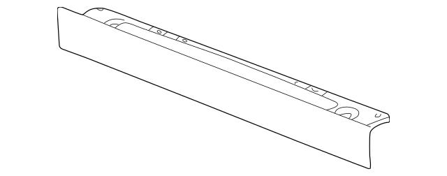 22706966 Lower Deflector for 2005 Pontiac Grand Am : GM