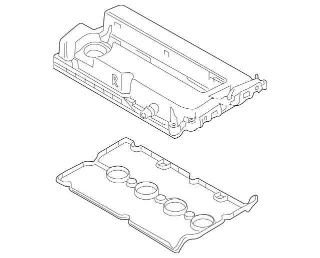 Valve Cover for 2009 Chevrolet Aveo|55564395 : GM Parts