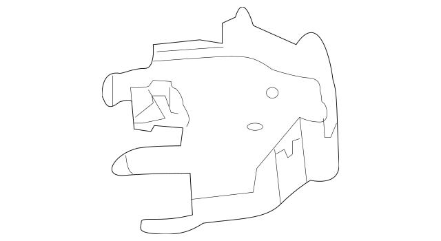 2009-2014 Nissan Maxima Headlamp Assembly Lower Bracket