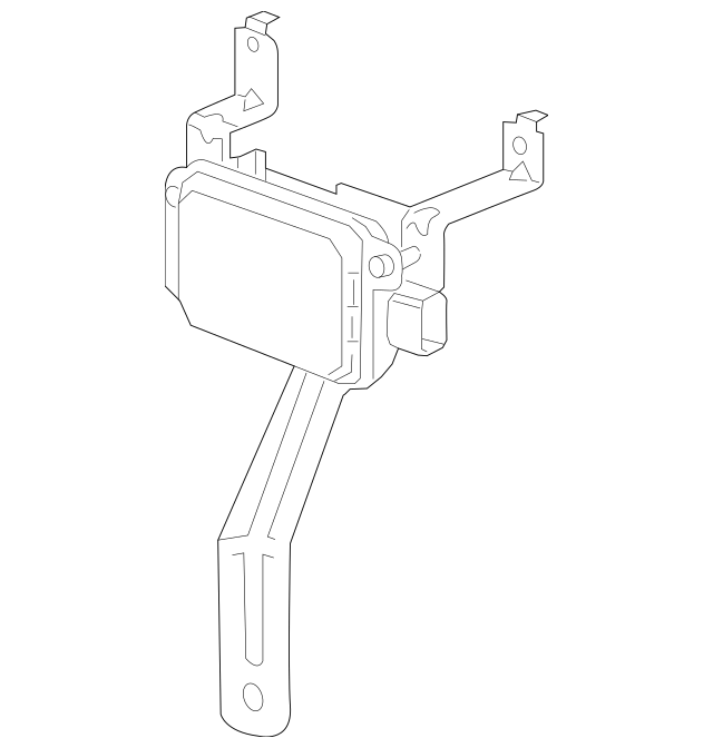2014-2015 Chevrolet Impala Control Module 23130426