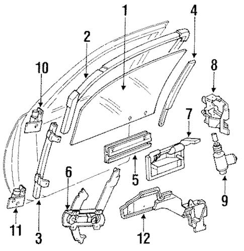 DOOR for 1994 Chevrolet Corsica