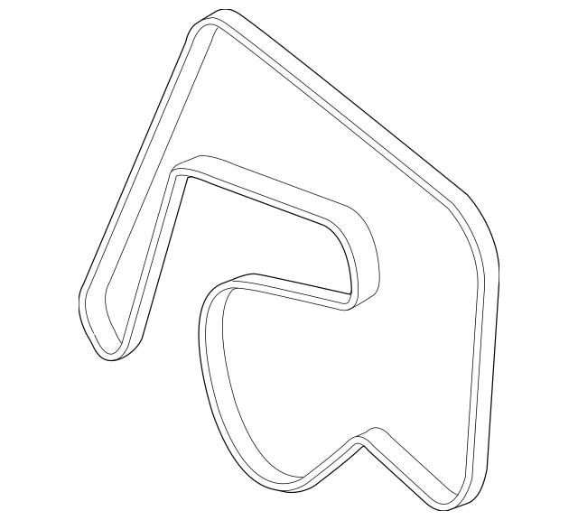 2013-2015 Mercedes-Benz GLK 250 Serpentine Belt 001-993-34