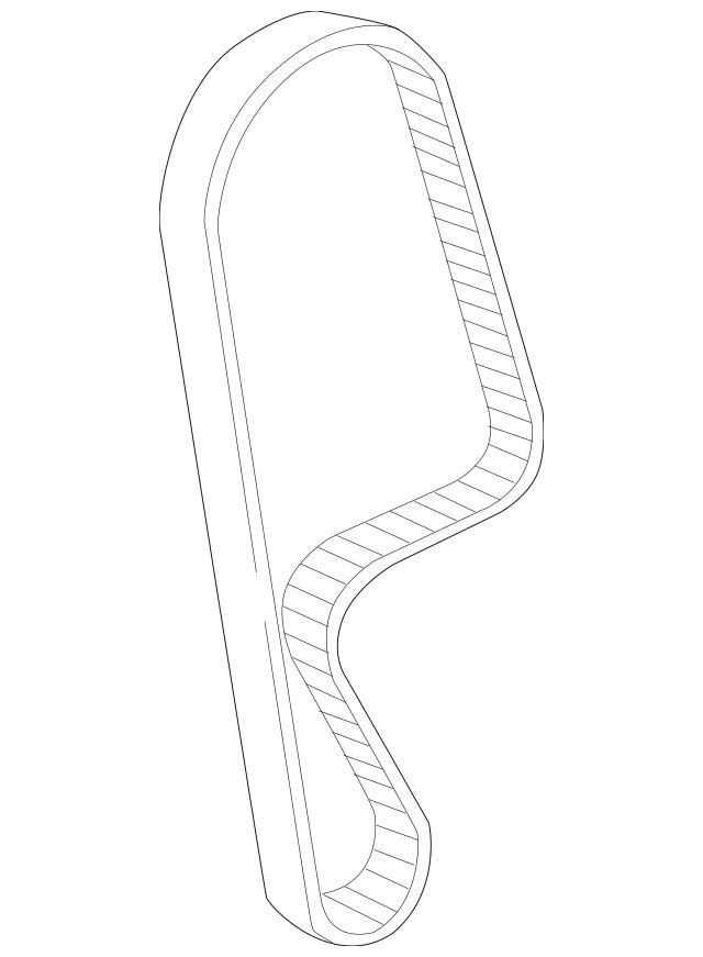 2001-2005 Honda Belt, Timing (104RU22 Gb-333) 14400-PMM