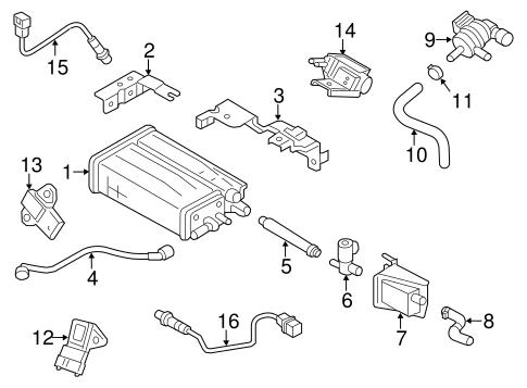 Veloster Emission System/Emission Components Parts