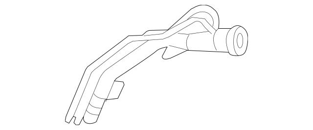 2003-2007 Honda Pipe, Fuel Filler 17660-SDC-L01