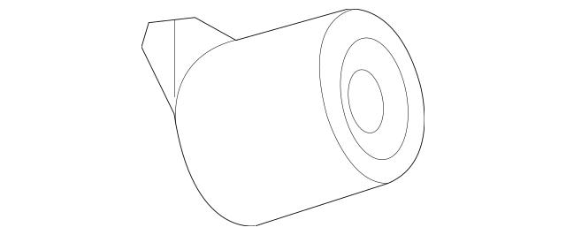 2011-2014 Mercedes-Benz CL 550 Muffler & Pipe Damper 221