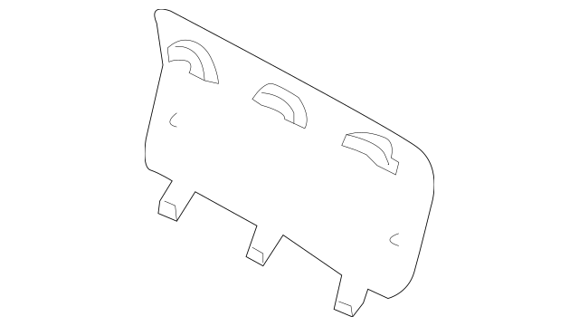 Genuine Mercedes-Benz Tow Bracket Cover 163-880-16-05-9999