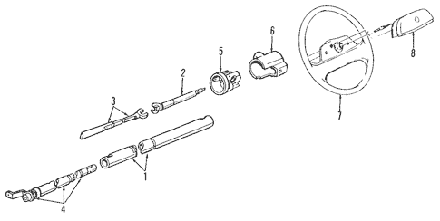 OEM Housing & Components for 1990 Cadillac DeVille
