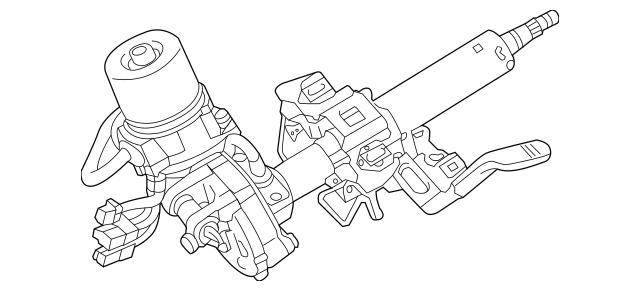 Genuine OEM Steering Column Part# 4405A229 Fits 2014-2015