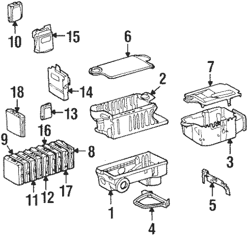 Electrical Components for 1997 Mercedes-Benz SL 600