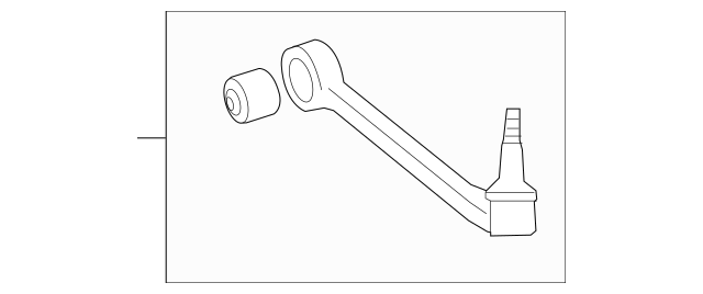 2010-2015 Chevrolet Camaro Lower Control Arm 20951300