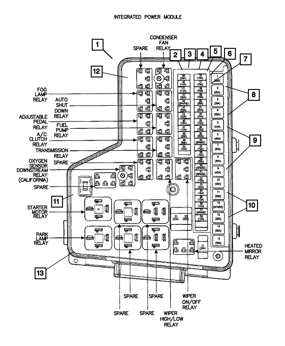 Ford 1 2 Iso Relay Diagram