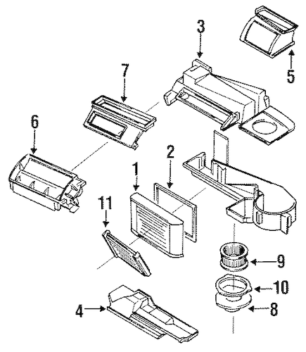 Service manual [How To Remove Heater From A 1996