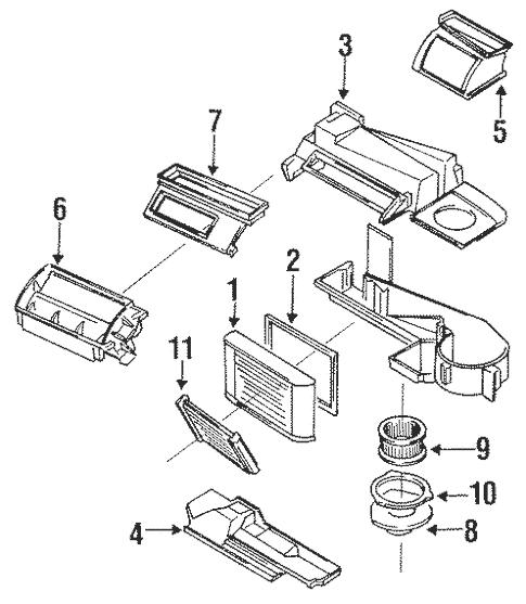 Condenser, Compressor & Lines for 1994 Oldsmobile Cutlass