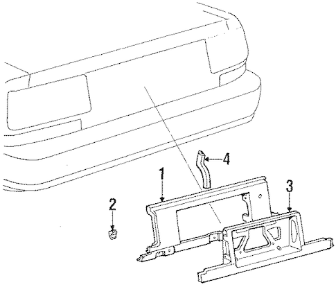 FINISH PANEL for 1988 Toyota Supra