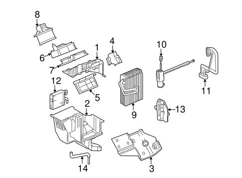 Evaporator & Heater Components for 2008 Chevrolet Uplander