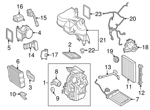 Car Engine Part Names Diagram Names Of All Parts Of A Car