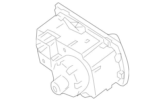 Mercedes-Benz Headlamp Switch (251-545-46-04-9116