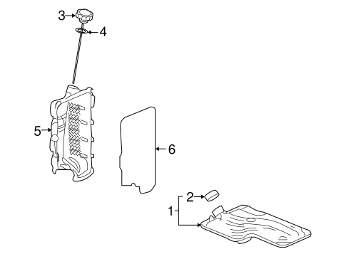 TRANSAXLE PARTS for 2008 Saturn Outlook