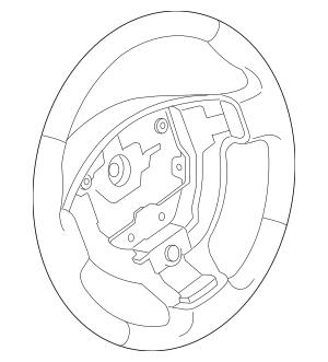 2007-2013 Nissan Altima Steering Wheel 48430-JA00B