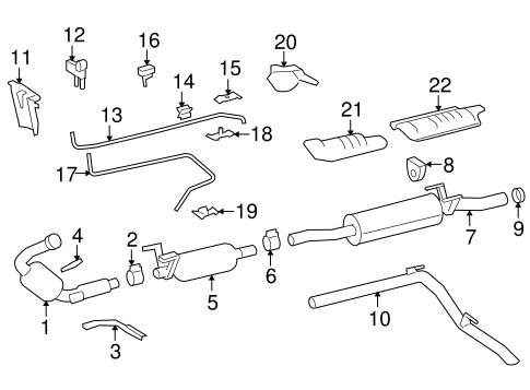 Exhaust Components for 2007 Dodge Sprinter 3500
