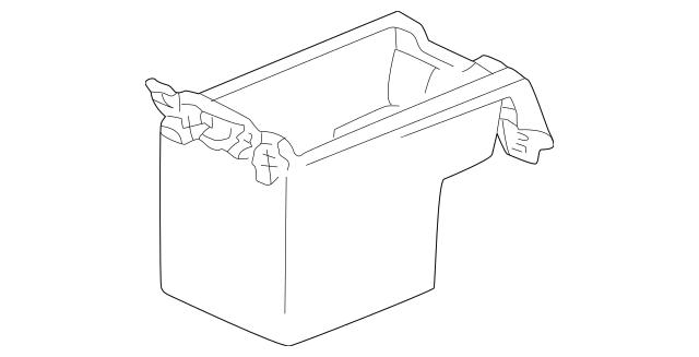 1999 Acura RL SEDAN Box, Rear Console *NH1L* (Black) 83402