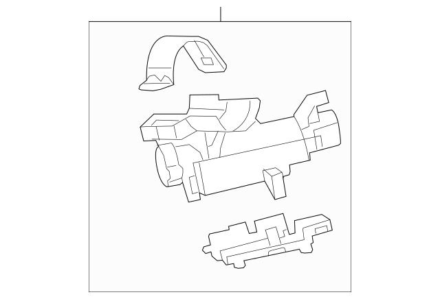 2010-2015 Chevrolet Camaro Lock Housing 23126266