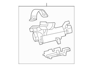 2010-2015 Chevrolet Camaro Ignition Housing 23126267