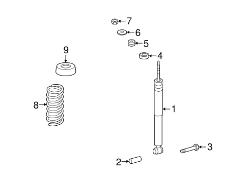 Suspension, Springs & Related Components for 2005 Mercedes