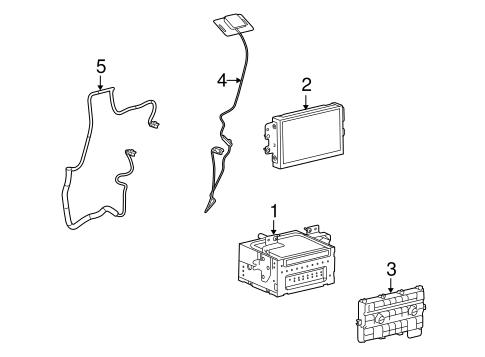 Navigation System Components for 2009 Ford Flex
