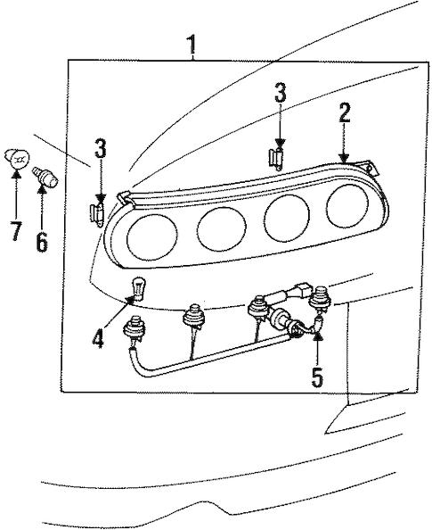 97-98 Taillights