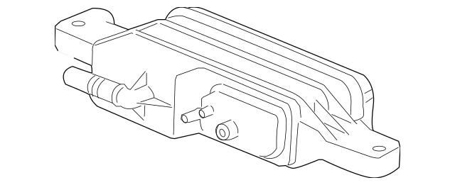 Genuine OEM 2008-2009 Pontiac G8 Vapor Canister 19329627