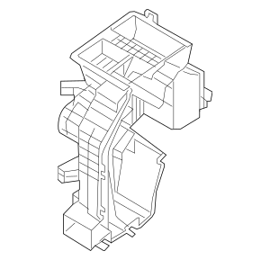 2015-2019 Hyundai Sonata Evaporator Case 97134-C2000