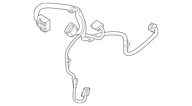 Genuine OEM 2010-2012 Ford Flex Wire Harness AA8Z-19949-AA