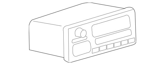 Buy this Genuine 2006-2007 Mitsubishi Raider Radio