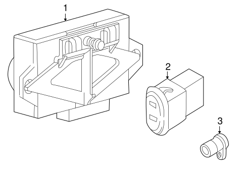 ELECTRICAL COMPONENTS for 2009 Mercury Mountaineer