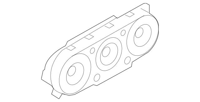2007-2010 Ford Explorer Sport Trac Dash Control Unit 8A2Z