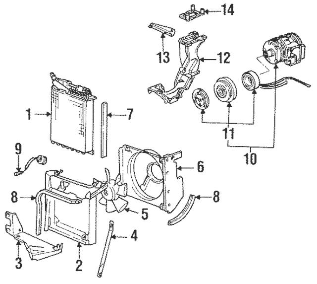1984-1998 Porsche 911 Fan Resistor 993-616-521-01