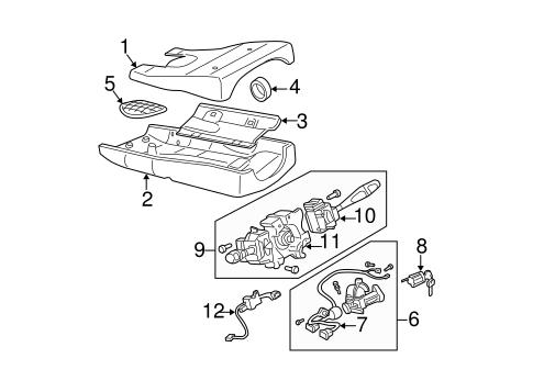 Ignition Lock for 1999 Mitsubishi Montero Sport