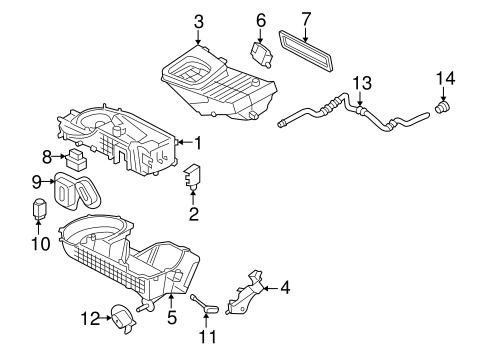 Automatic Temperature Controls for 2005 Ford Freestyle