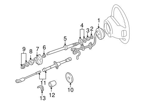 Shaft & Internal Components for 1998 Ford Expedition