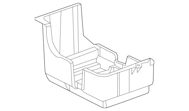 2013-2017 Acura RDX 5-DOOR Box, Battery 31521-TX4-A00